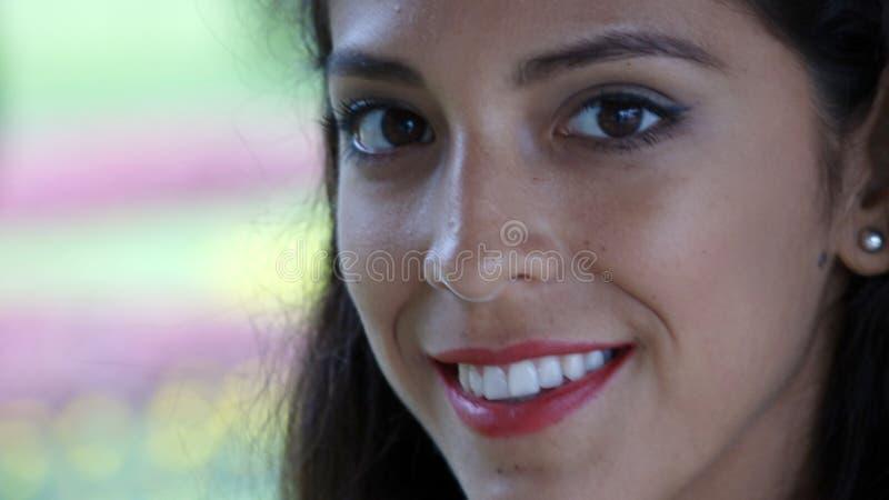 Uśmiechnięta twarz Mniejszościowa osoba zdjęcia royalty free