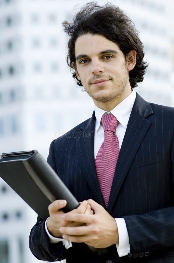 Uśmiechnięty Biznesmen obrazy royalty free