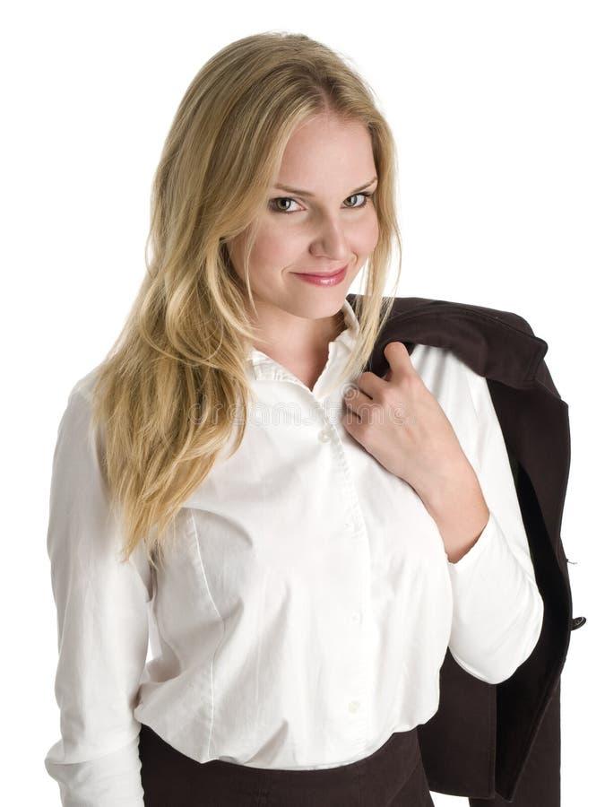 Uśmiechnięty bizneswoman zdjęcie stock