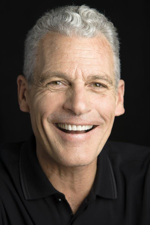 Uśmiechnięty Mężczyzna fotografia stock