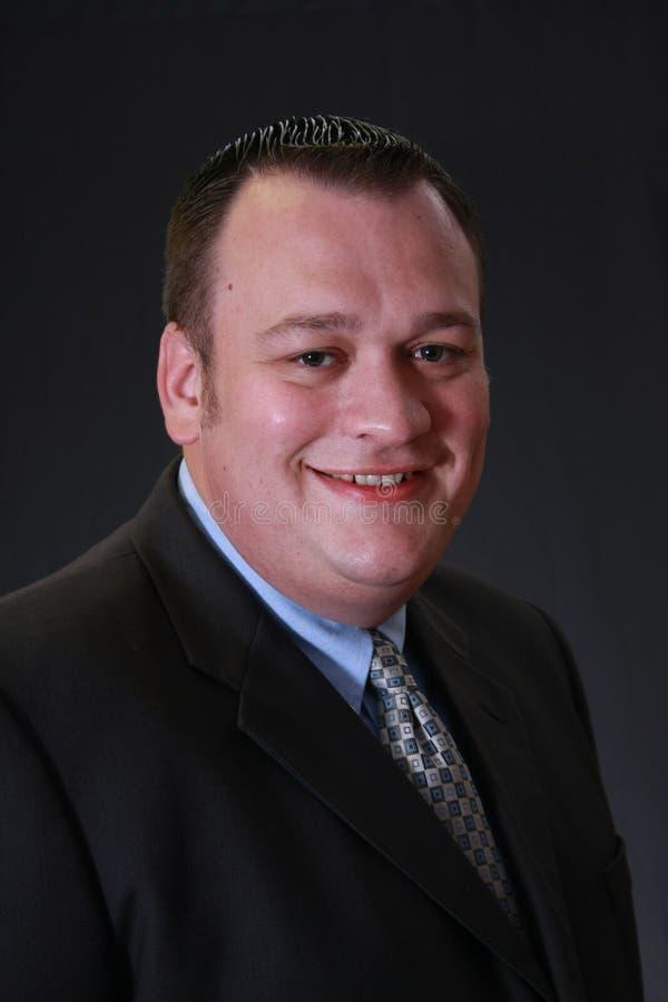 uśmiechnięty mężczyzna kostium zdjęcia stock