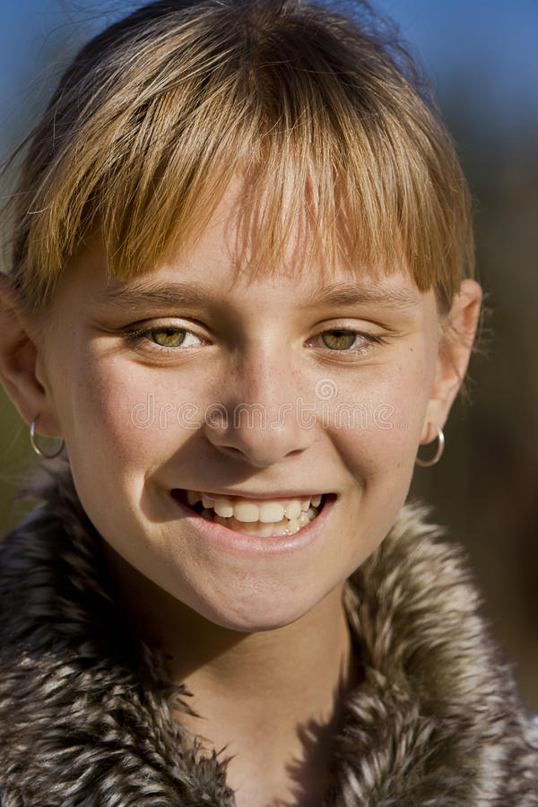 Uśmiechnięty Nastoletni zdjęcie royalty free