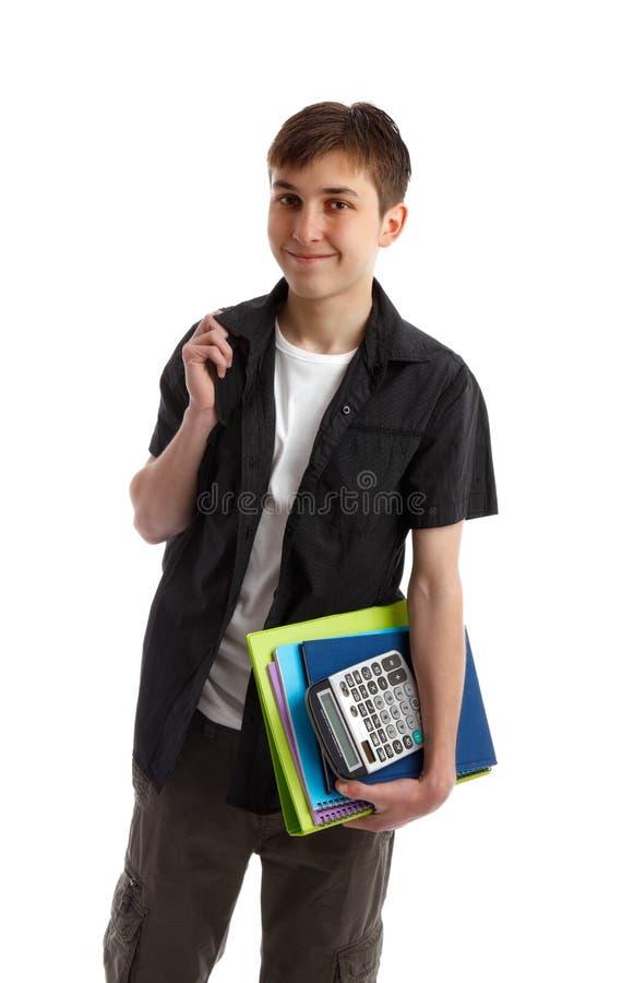uśmiechnięty uczeń fotografia stock