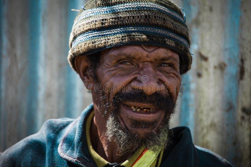 Uśmiechy Papua - nowa gwinea obraz royalty free