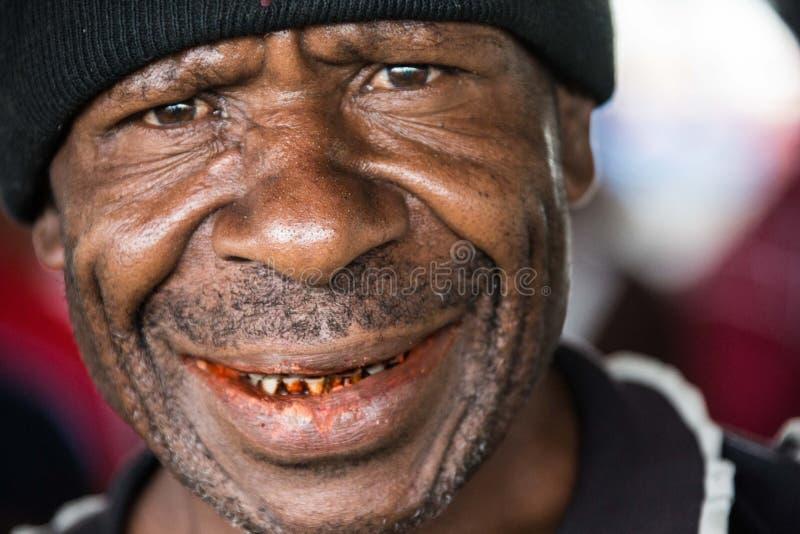 Uśmiechy Papua - nowa gwinea obrazy royalty free