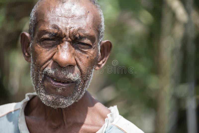 Uśmiechy Papua - nowa gwinea fotografia stock