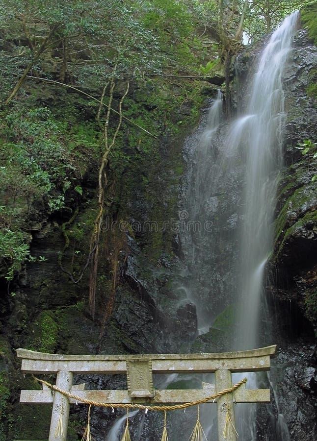 uświęcona wodospadu obraz stock