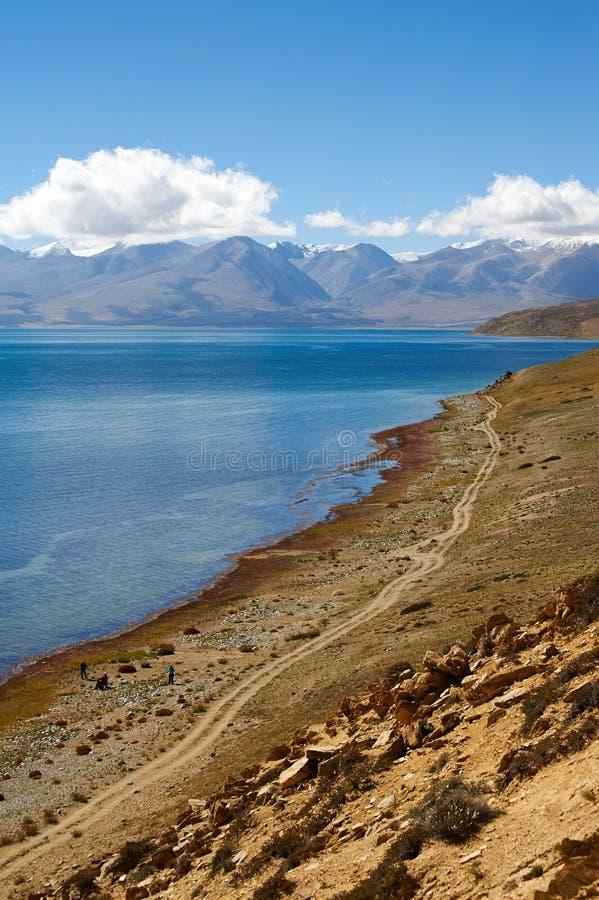 Uświęcony jezioro góra i obraz stock