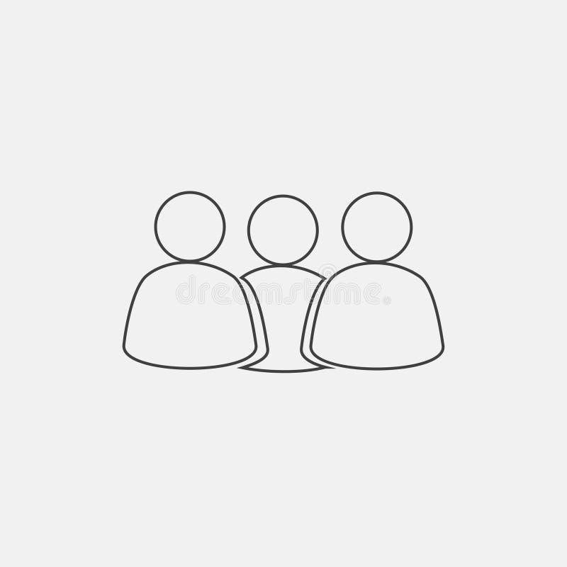 Użytkownik ikona royalty ilustracja