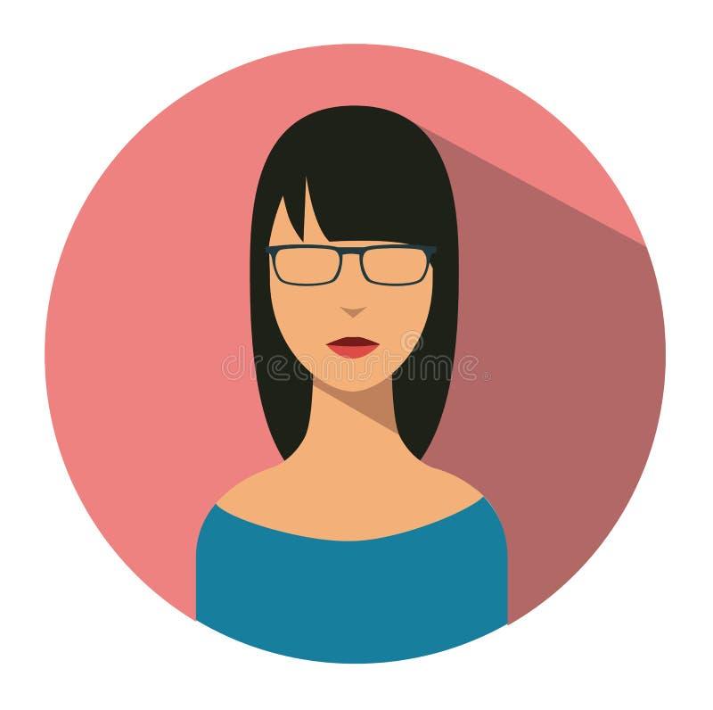 Użytkownik szyldowa ikona Osoba symbol Ludzki avatar ilustracji