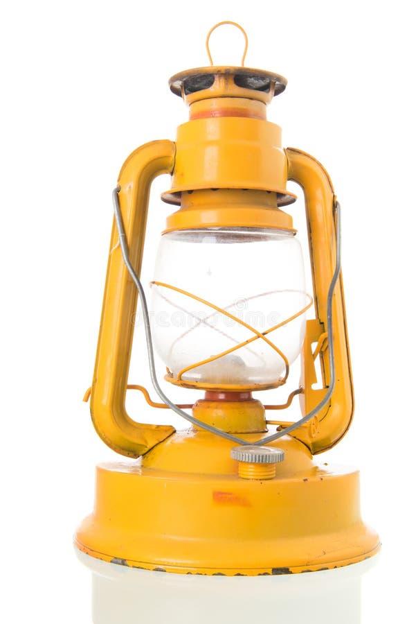 Używać żółty lampion obrazy royalty free