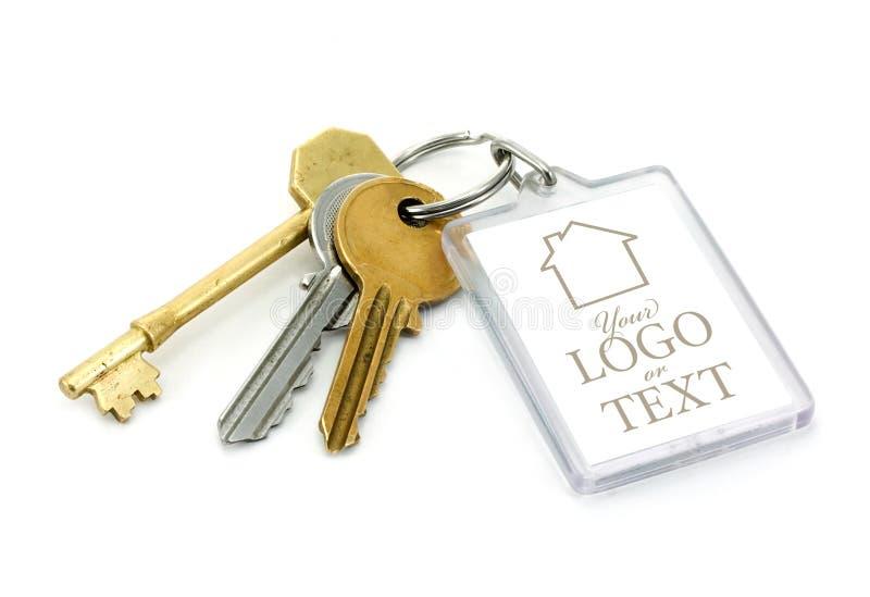 Używać Domowi klucze fotografia stock
