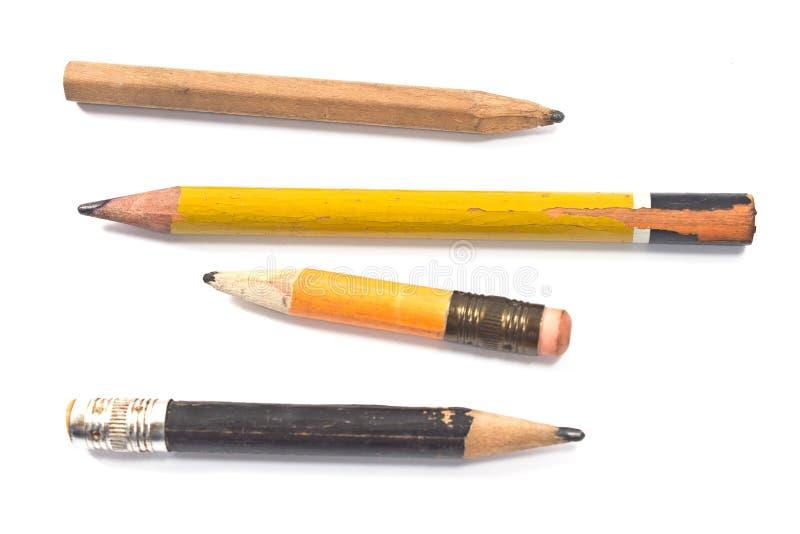 Używać drewniany ołówek fotografia royalty free