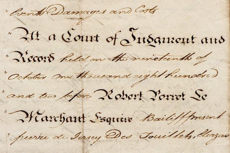 Używać papierowego tekstura rocznika handwriting kaligraficzny manuskrypt obrazy royalty free