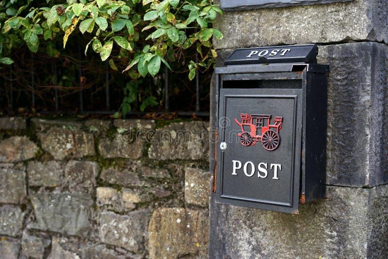 Używać pocztę dla ślimaczek poczty obraz stock