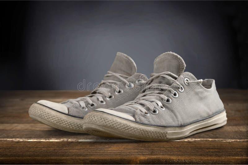 Używać sporta but obrazy stock