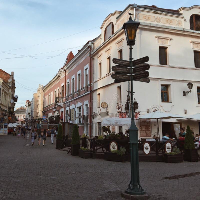 Užhorod Ucraina immagini stock