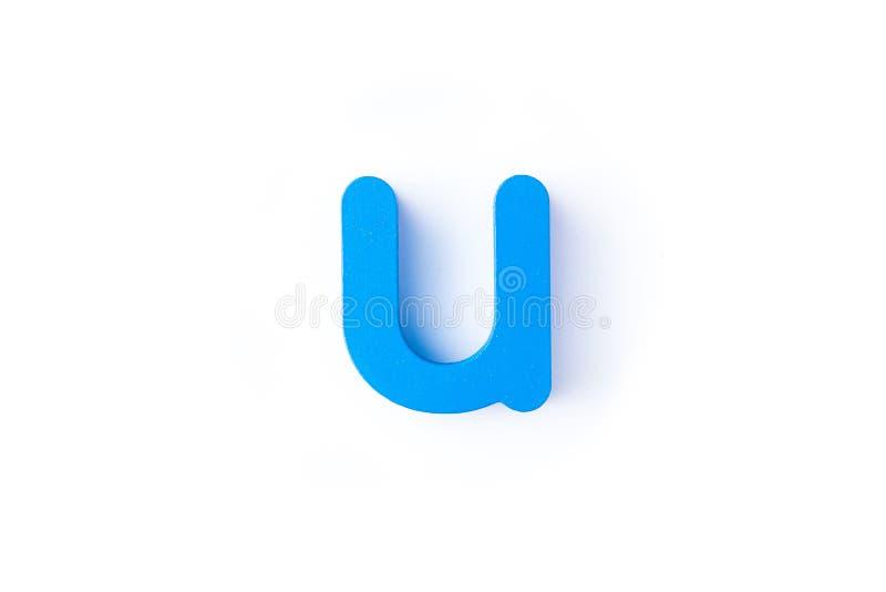 U信件用英语 图库摄影