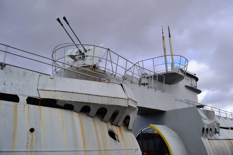 U łódkowaty Liverpool berthed przy seacombe obrazy royalty free