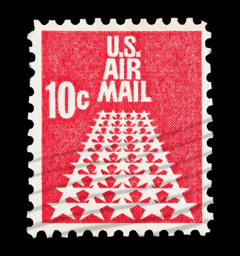 U Цент воздушной почты 10 s стоковые изображения