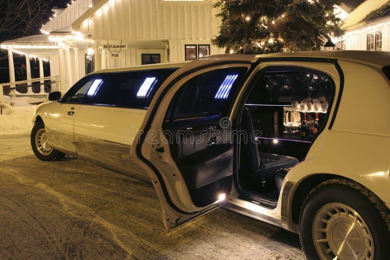 U `aangaande limo wacht royalty-vrije stock afbeeldingen
