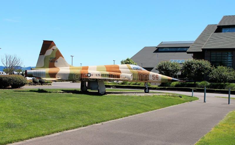 U Avião de combate da força aérea de S foto de stock royalty free