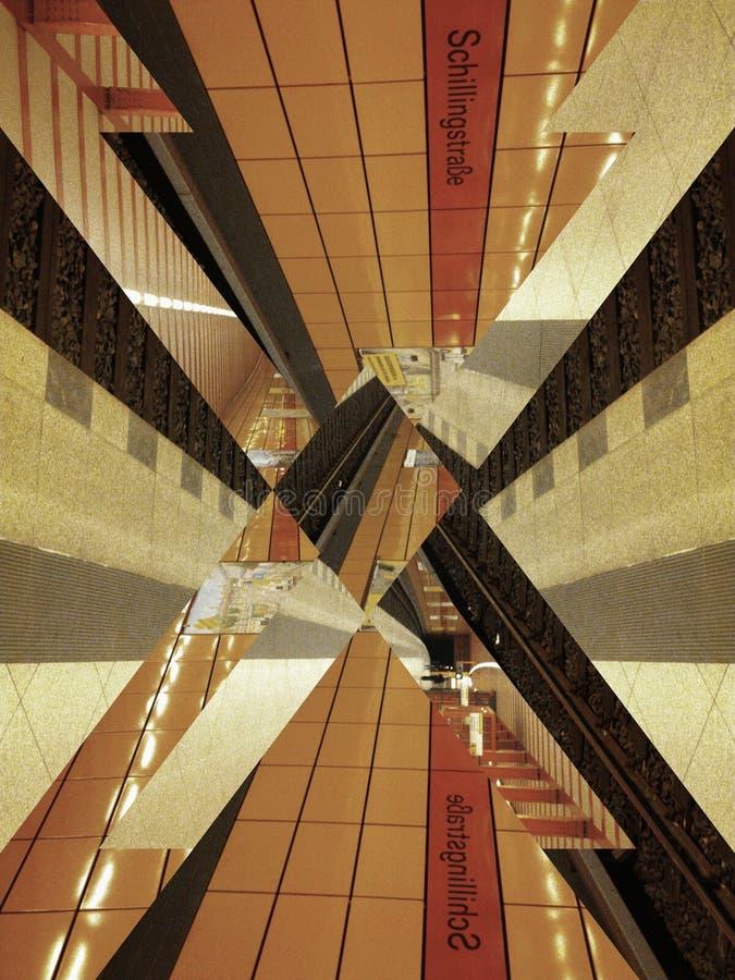 U-Bahn Berlín fotos de archivo