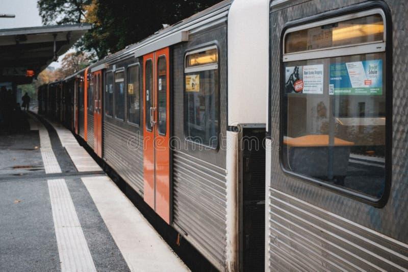 U-Bahn royalty free stock images