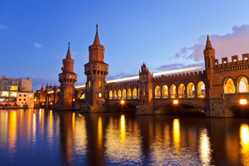 Oberbaum Bridge - Berlin Stock Image