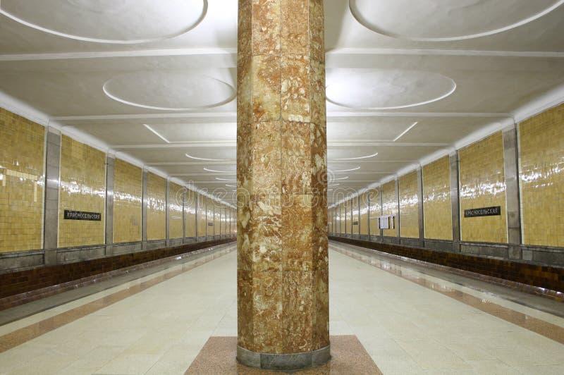 U-Bahnstation 3 lizenzfreies stockfoto