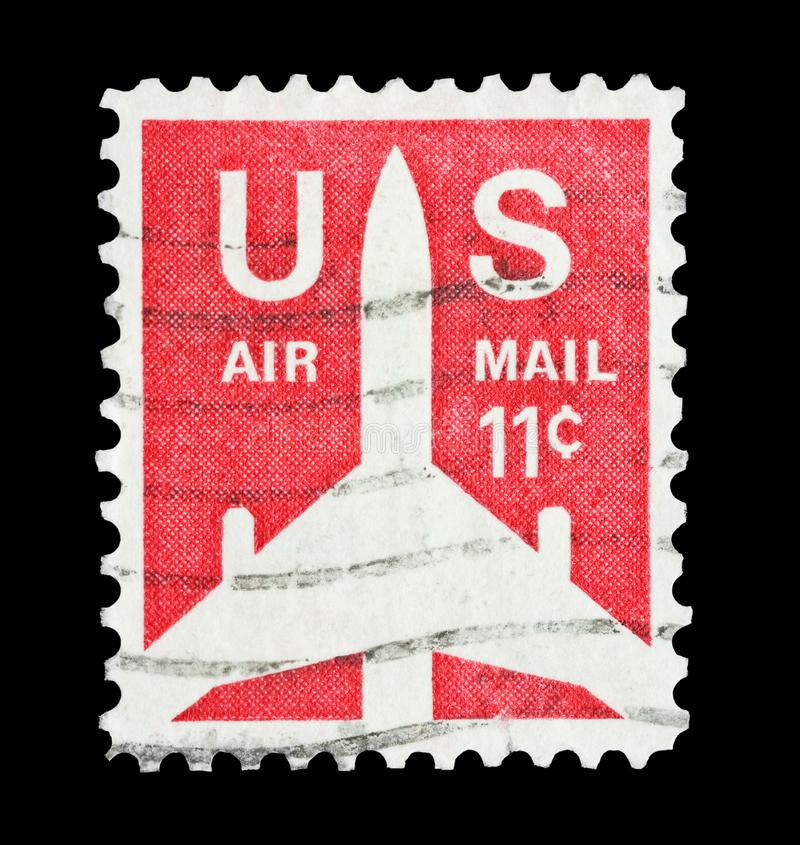 U Cent der s-Luftpost 11 stockbild