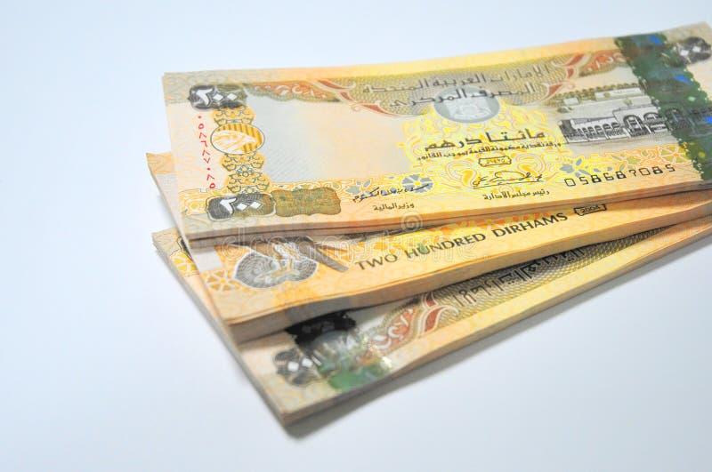 U.A.E.money stock afbeeldingen