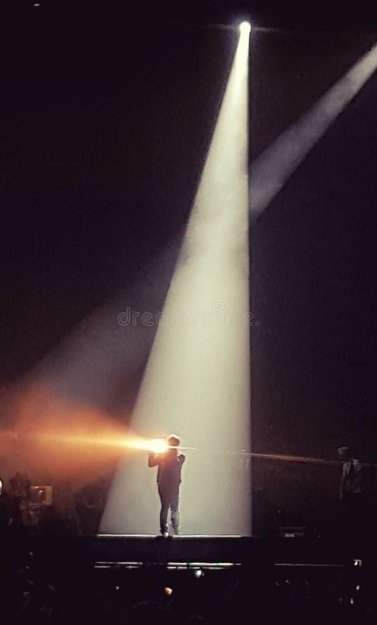 U2 im Konzert stockbild