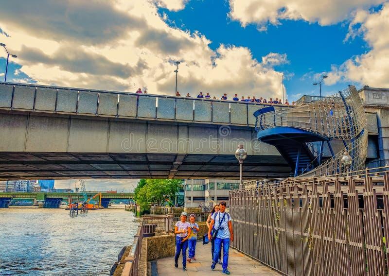 伦敦桥楼梯2 免版税图库摄影