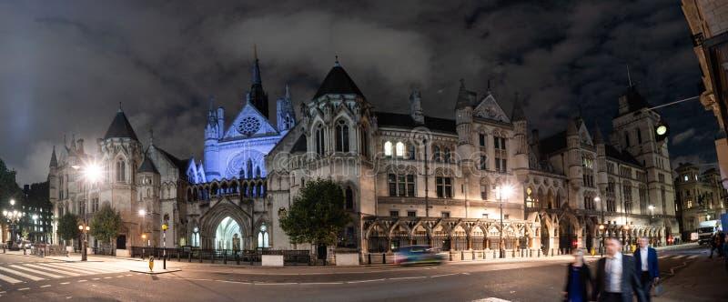 U K Kungliga domstolar av rättvisa arkivfoton