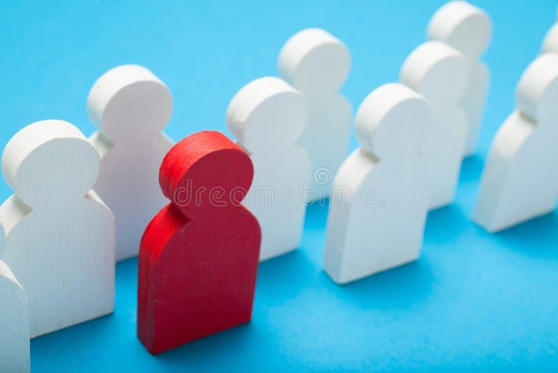 U-managerrekrutering Beste bedrijfskandidaat stock foto