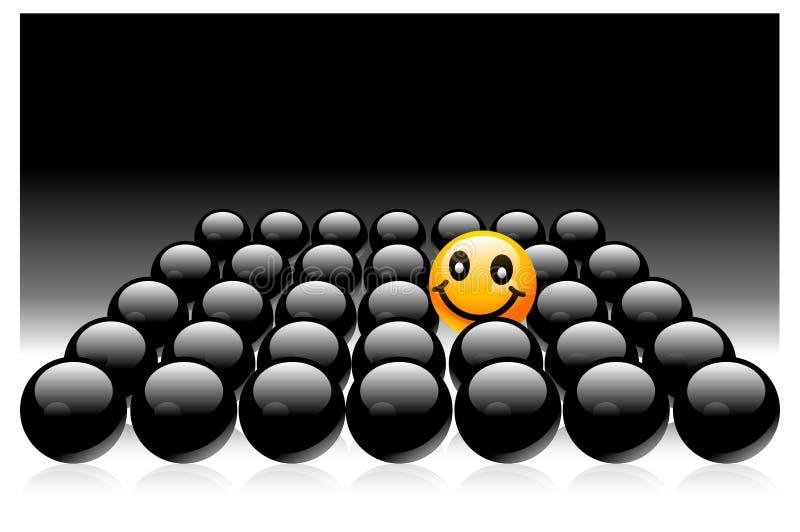Download Uśmiech ilustracja wektor. Ilustracja złożonej z linia - 13325708