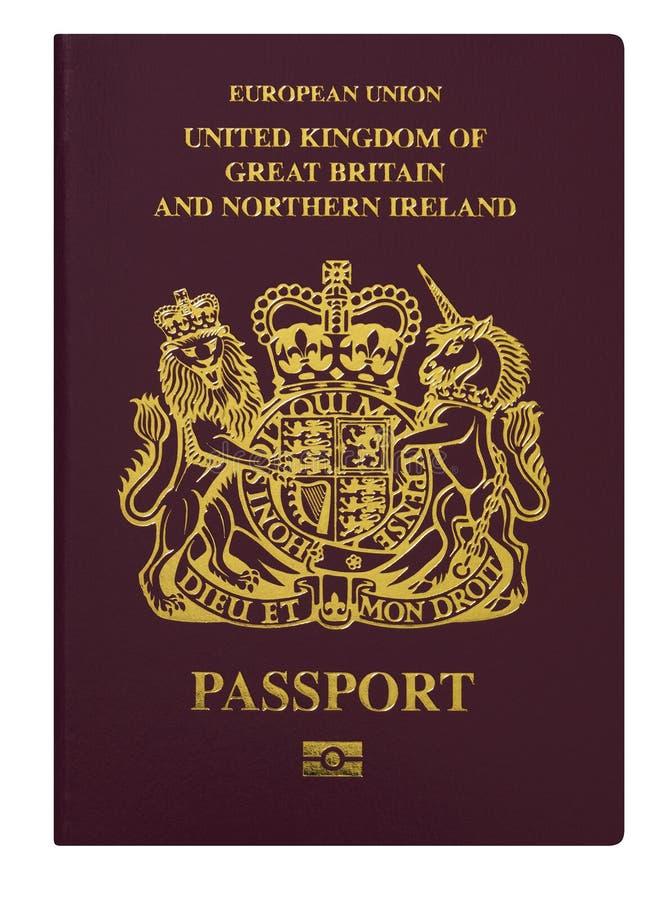U Passaporte de K foto de stock