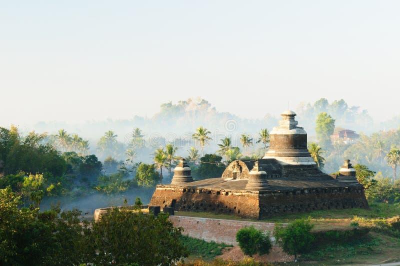 u paya της Βιρμανίας dukkanthein mrauk Myanmar στοκ φωτογραφία
