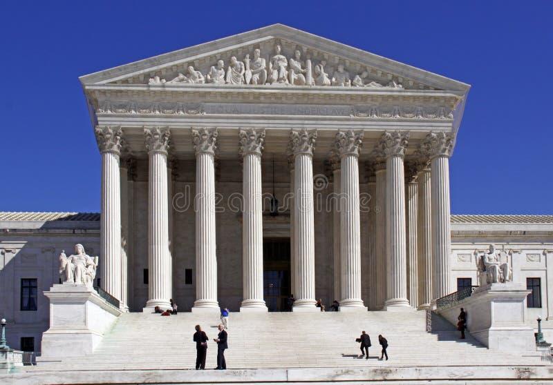 U.S. Ανώτατο δικαστήριο - βήματα της δικαιοσύνης στοκ φωτογραφίες