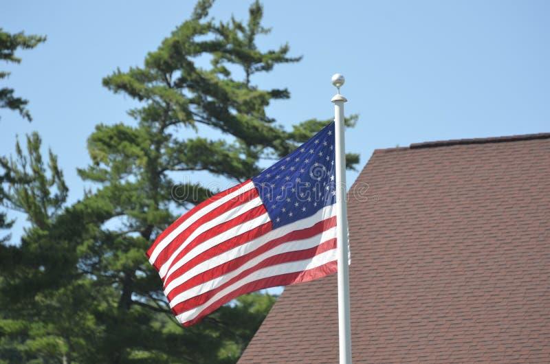 U S σημαία στοκ εικόνα