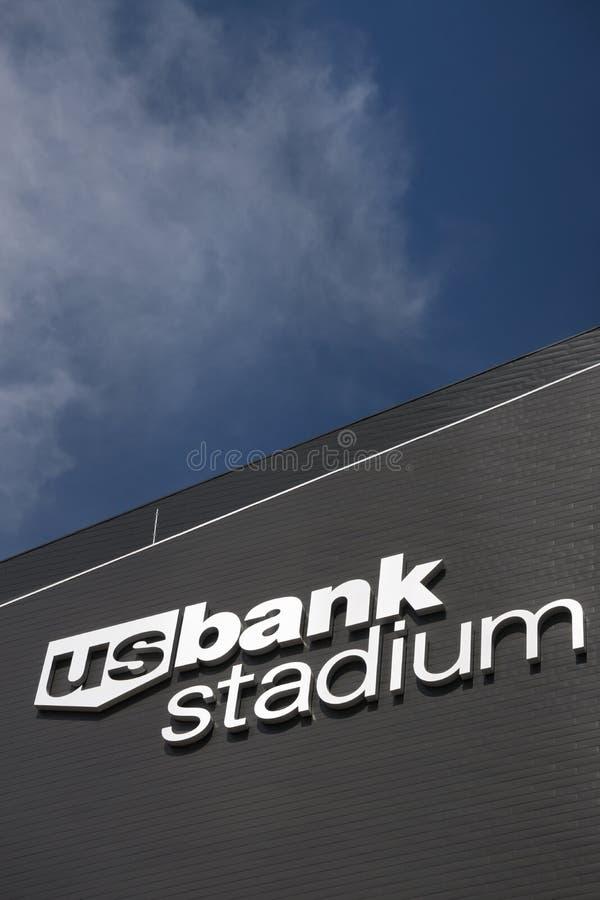 U S Στάδιο τράπεζας στοκ εικόνες με δικαίωμα ελεύθερης χρήσης