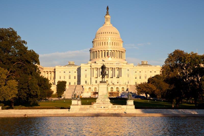 U.S. Капитолий Стоковая Фотография