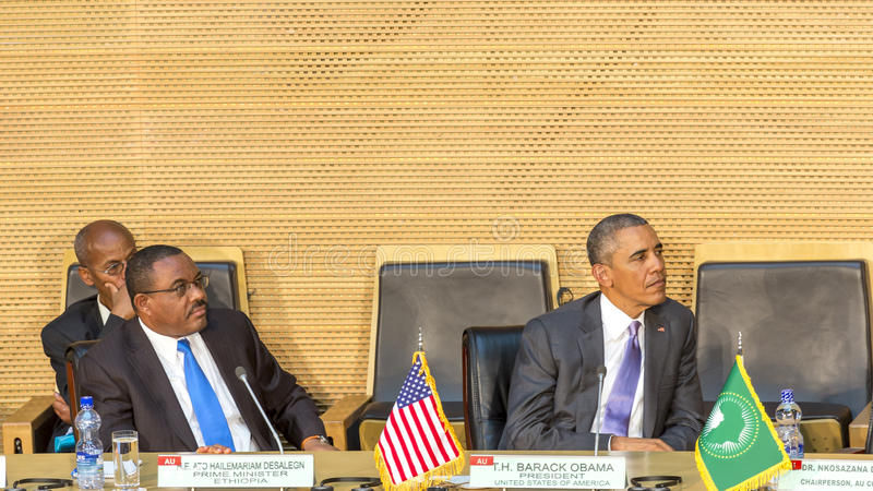 U S Президент Barack Obama делает его первое президентское посещение t стоковая фотография