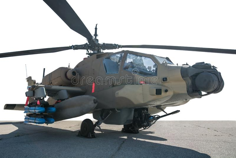 U S 军队直升机亚帕基 免版税库存图片