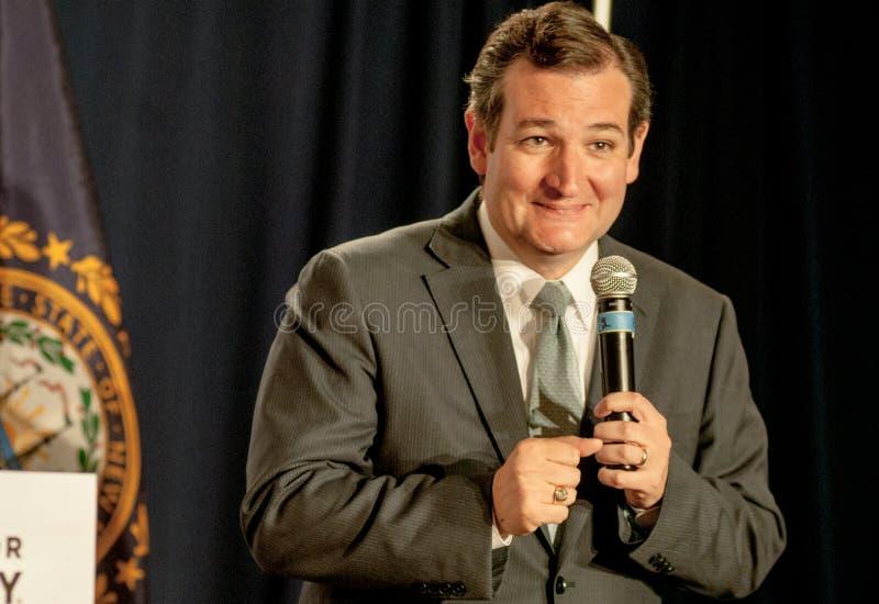 U.S. 特德Cruz, R得克萨斯参议员 库存图片