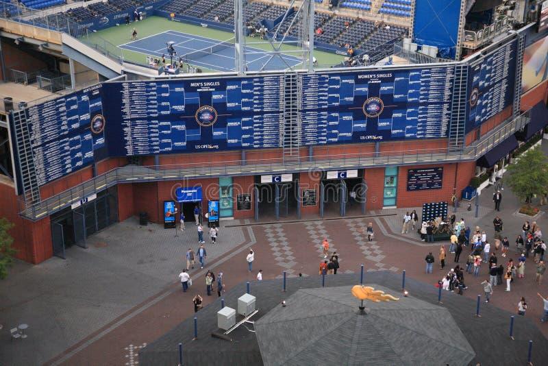 U.S. Abra el tenis foto de archivo libre de regalías