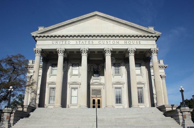 U.S. Aduanas en Charleston fotos de archivo