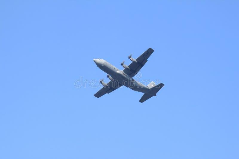 U.S. Air Force Hercules plane in Holland