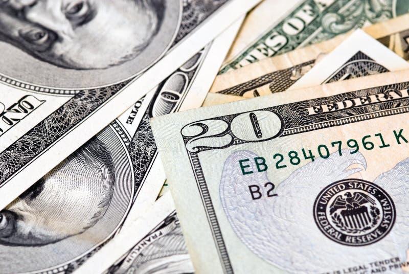 U.S. argent photographie stock libre de droits
